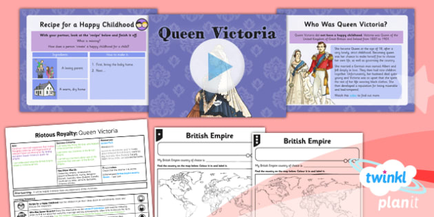 PlanIt - History LKS2 - Riotous Royalty Lesson 5: Queen Victoria Lesson Pack - victorians, empire, jubilee, victorian