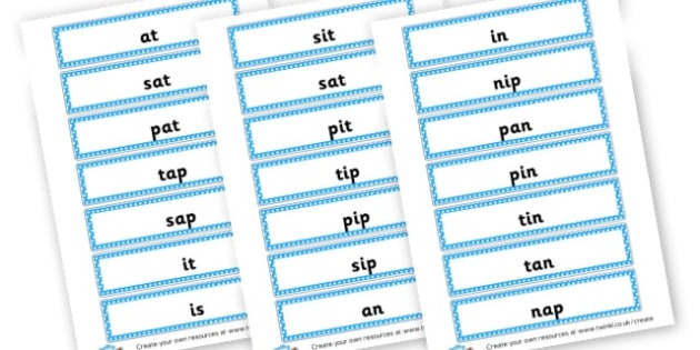 Phase 2 Words Cards - Phase 2 Visual Aids Primary Resources, Phase One, Letters, sounds