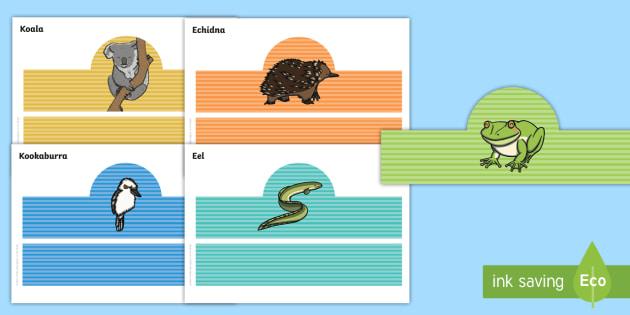 Tiddalick the Frog Role Play Headbands - Australian Aboriginal Dreamtime Stories, tiddalick the frog role play, drama, acting, headbands, rol
