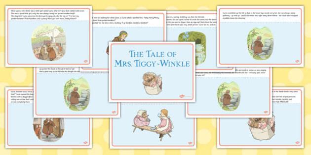 The Tale of Mrs Tiggy Winkle Story - mrs tiggy winkle, tale, story