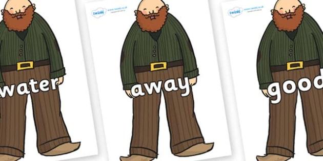 Next 200 Common Words on Giants - Next 200 Common Words on  - DfES Letters and Sounds, Letters and Sounds, Letters and sounds words, Common words, 200 common words