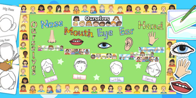 Ready Made Ourselves Display Resources Pack - ourselves, pack