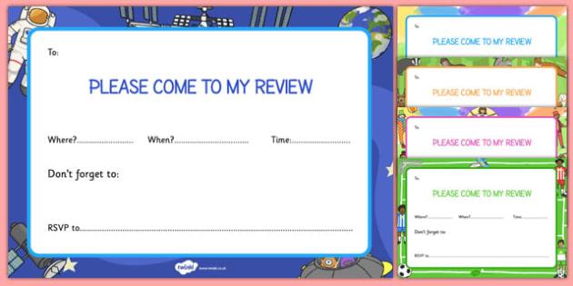 Person Centred Review Invitation - person, centred, review, invitations