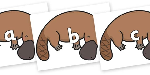 Phase 2 Phonemes on Platypus - Phonemes, phoneme, Phase 2, Phase two, Foundation, Literacy, Letters and Sounds, DfES, display