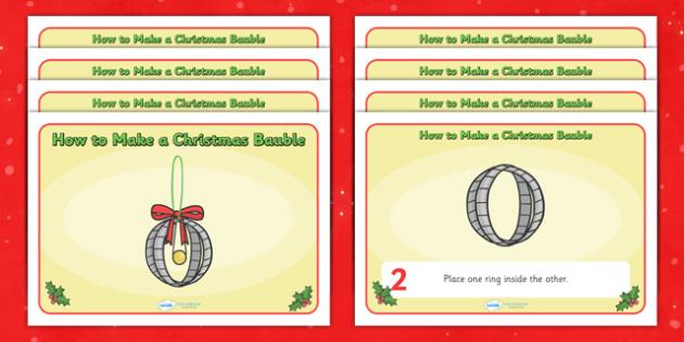 christmas, baubel, craft ideas, children activities, decoration