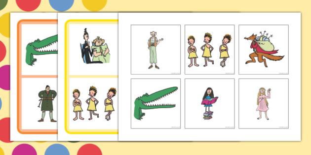Roald Dahl Character Picture Lotto SEN