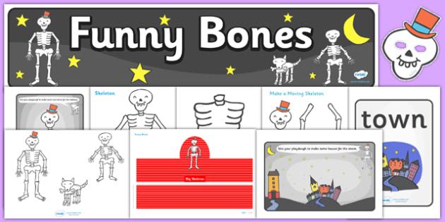 Childminder Resource Pack to Support Teaching on Funnybones - child minder, stories