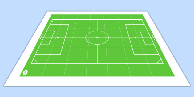Football Pitch BeeBot Mat - pitch, football, beebot, direction