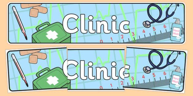 Clinic Display Banner - clinic, display banner, display, banner