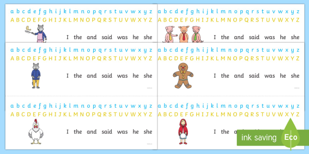 Alphabet Strips to Support Teaching on Mr Wolf's Pancakes - mr wolfs pancakes, alphabet