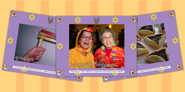 Purim Display Photo PowerPoint - purim, religion, hinduism, photo
