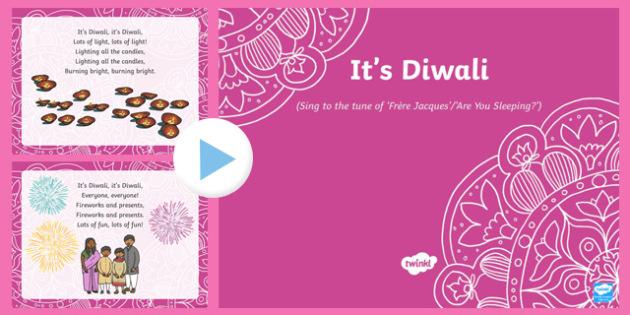 It's Diwali Song PowerPoint