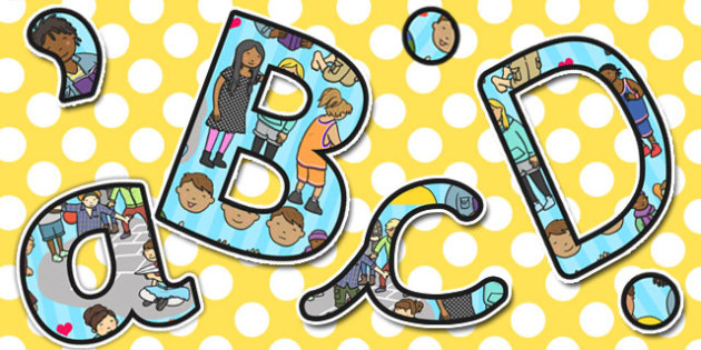 PSHE Themed A4 Display Lettering - PSHE, Display, Lettering