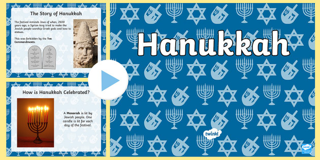All About Hanukkah PowerPoint - powerpoint, power point, interactive, powerpoint presentation, presentation, slide show, slides, hanukkah, hanukkah information, hanukkah powerpoint, hanukkah presentation, discussion aid, discussion points