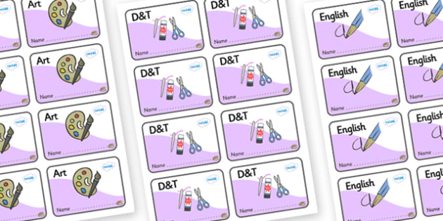 Oyster Themed Editable Book Labels - Themed Book label, label, subject labels, exercise book, workbook labels, textbook labels