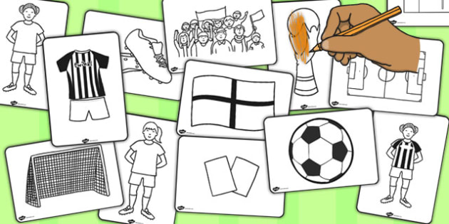Womens Football World Cup 2015 Colouring Pages - football, 2015