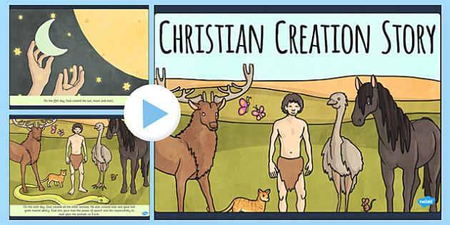 Christian Creation Story PowerPoint - christian, creation, story, powerpoint
