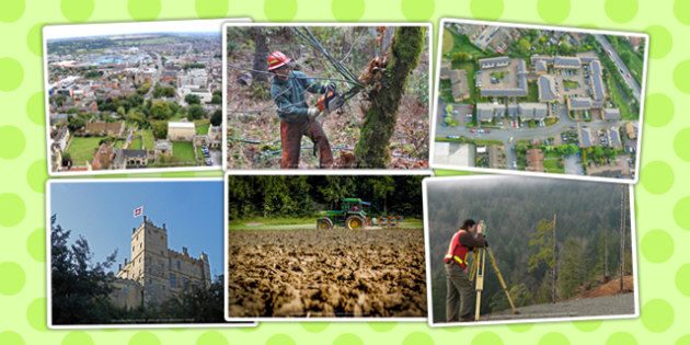 Land Use Photo Clip Art Pack - land use, photo, clip art, pack