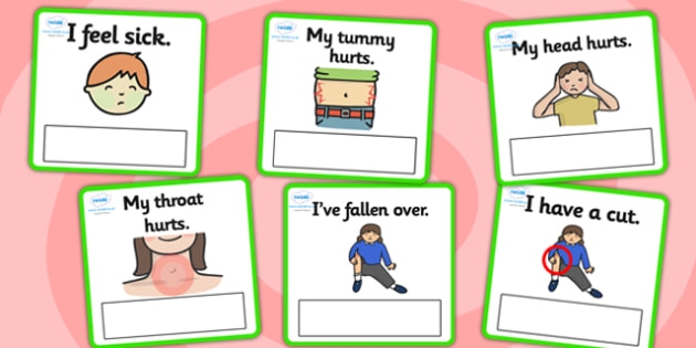 EAL Emergencies Editable Cards with English - EAL, emergencies, editable, cards, editable cards, EAL cards, english, themed cards, cards with english