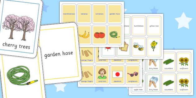 Three Syllable Final 'Z' Sound Playing Cards - final z sound, game