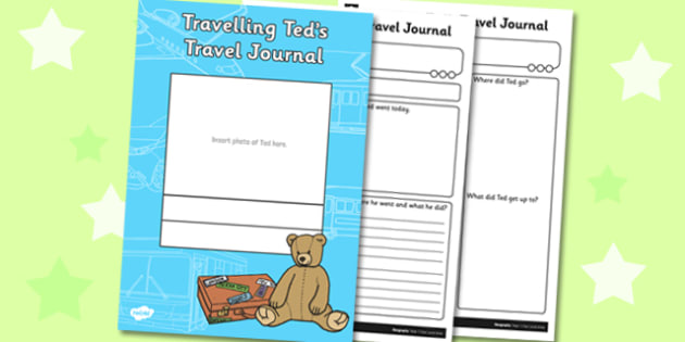 Travelling Ted's Travel Journal - travelling ted, travel journal, journal