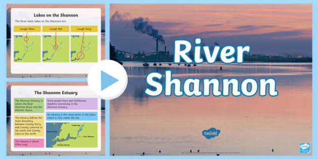River Shannon PowerPoint-Irish