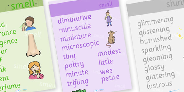 Synonyms Display Poster (Large) - synonyms display poster, synonym poster, synonym words, alternative words, finding better words, ks2 literacy