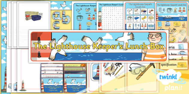 PlanIt - DT KS1 - The Lighthouse Keeper's Lunch Box Unit Additional Resources