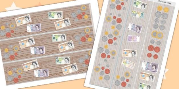 Money Display Borders - money, display borders, border, display