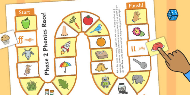 Self-Checking Phase 2 Board Game - alphabet, board game, check