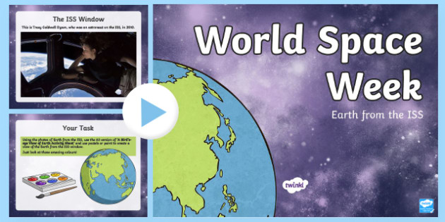 Earth from the ISS Activity PowerPoint