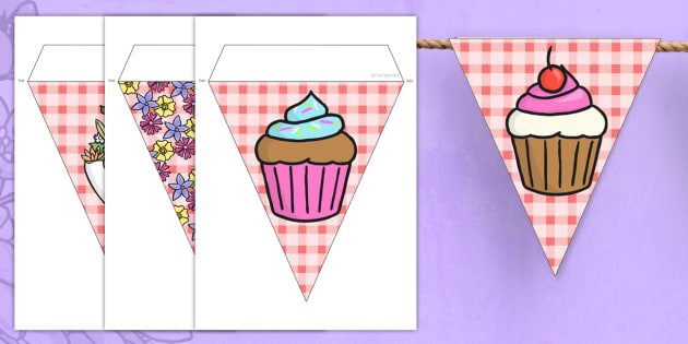 Mothers Day Bunting - bunting, flags, display bunting, display