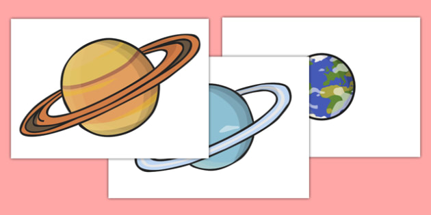 Planet Display Cut Outs - planet, display, cut outs, space, planets, orbit, earth, mars
