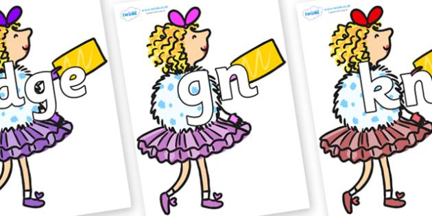 Silent Letters on Veruca Salt - Silent Letters, silent letter, letter blend, consonant, consonants, digraph, trigraph, A-Z letters, literacy, alphabet, letters, alternative sounds