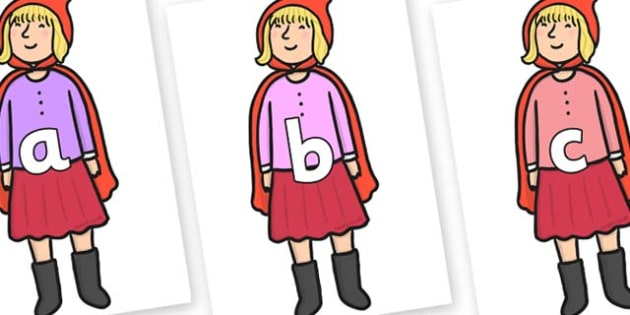 Phase 2 Phonemes on Red Riding Hood to Support Teaching on The Jolly Christmas Postman - Phonemes, phoneme, Phase 2, Phase two, Foundation, Literacy, Letters and Sounds, DfES, display