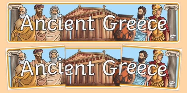 Ancient Greece Display Banner - ancient greece, greek, banner