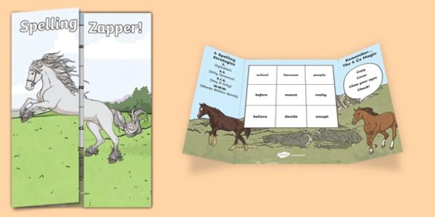 Y4 Spelling Zapper - spelling zapper, spell, spelling, zapper, dyslexic, dyslexia, learn, tricky words, personalise, words, year 4