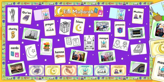Ready Made Eid Display Pack - displays, visuals, visual, religion