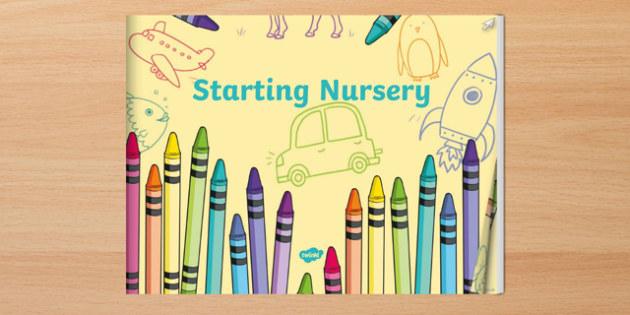 EYFS Starting Nursery eBook