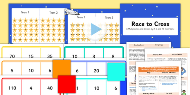 KS1 Multiplication and Division Starter Ideas Pack - ks1, starter ideas, ideas