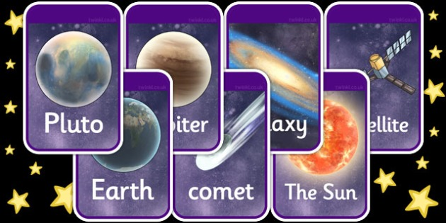 Detailed Space Flashcards - detailed, space, flashcards, cards