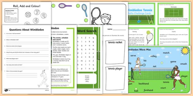 KS1 Wimbledon Resource Pack