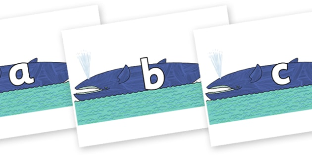 Phase 2 Phonemes on Whale to Support Teaching on Sharing a Shell - Phonemes, phoneme, Phase 2, Phase two, Foundation, Literacy, Letters and Sounds, DfES, display