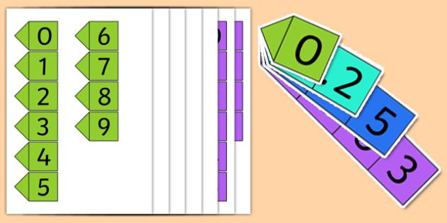 Decimal Place Value Cards - decimals, fractions, numeracy, math