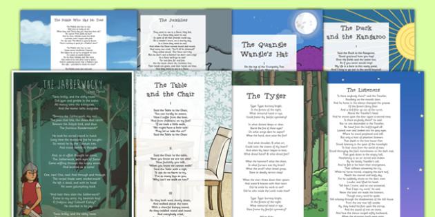 Bumper Poem Pack - bumper pack, poem, poems, poetry, key stage 2, ks2, pack
