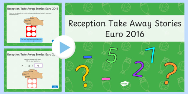 Reception Take Away Stories Euro 2016 Theme PowerPoint-Welsh