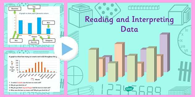 Year 4 Interpreting Data Task Setter PowerPoint - task setter