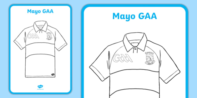 Editable Cut Out Mayo Jersey Template A2