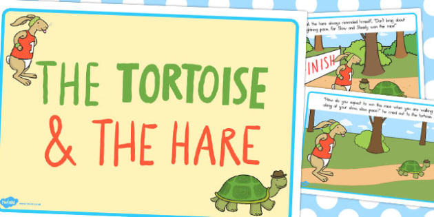 The Tortoise and the Hare Story - australia, tortoise, hare