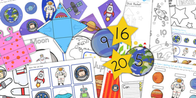 KS1 Space Activity Pack - australia, space, activity pack, pack